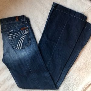 7 FAM Seven for all mankind dojo jeans